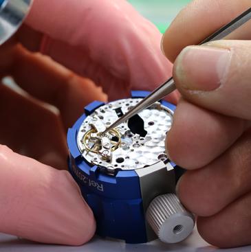 Réparation de montre