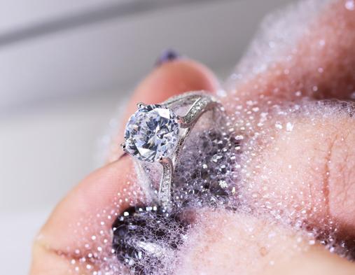 entretien d'un diamant